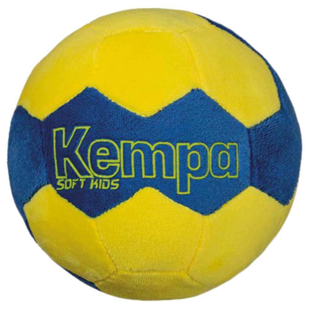 Kempa Ballon Handball Soft Junior One Size Kempa Blue / Fluo Yellow
