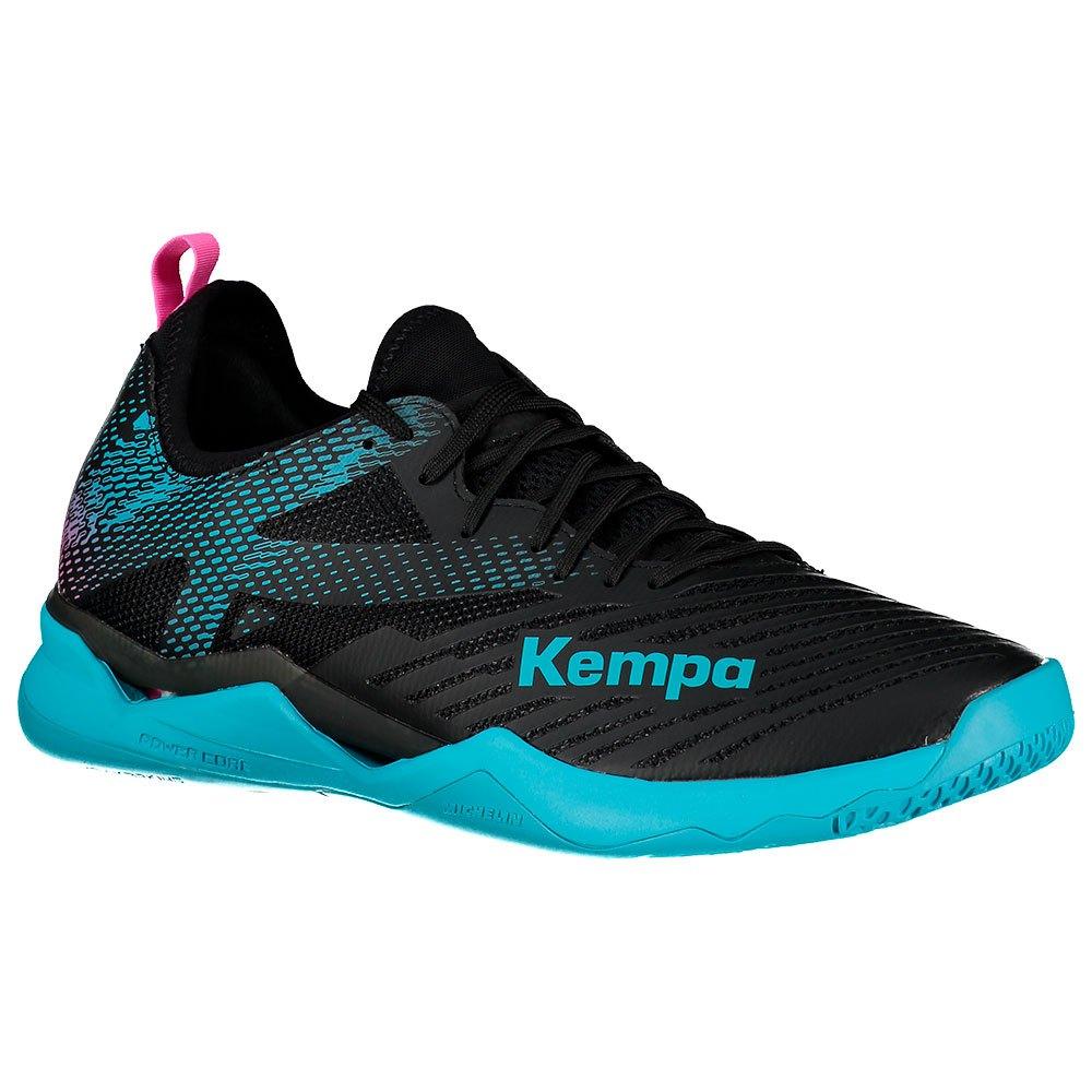 Kempa Chaussures Wing Lite 2.0 EU 39 Black / Aqua