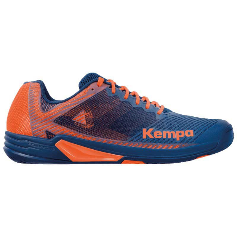 Kempa Chaussures Wing 2.0 EU 39 Navy / Fluo Orange