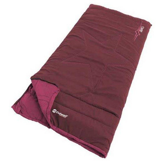 Outwell Sac De Couchage Champ Enfant Extra Short Deep Red
