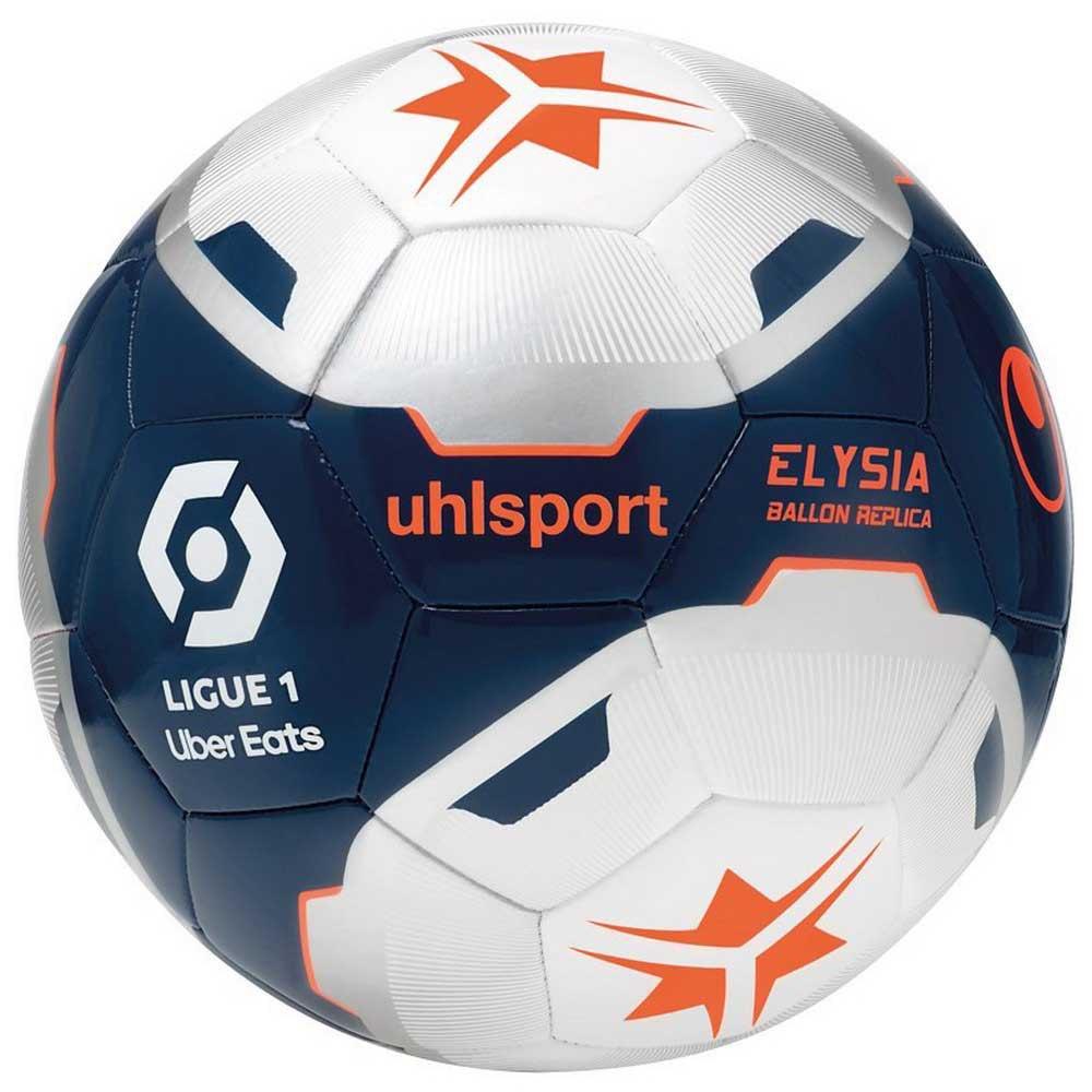 Uhlsport Ballon Football Elysia Replica 5 Navy / Silver / Fluo Orange