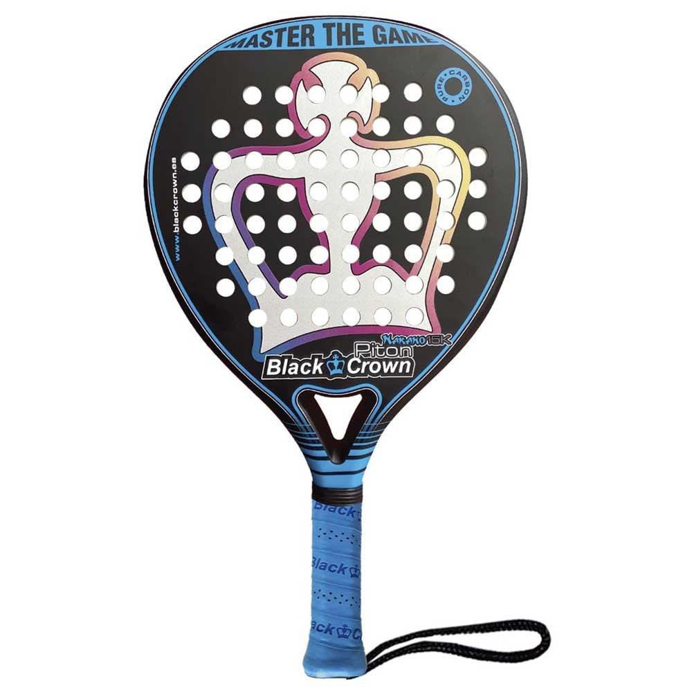 Black Crown Piton Nakano 15k Padel Racket One Size Black