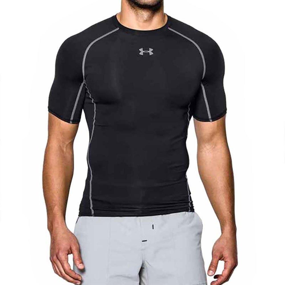Under Armour T-shirt Manche Courte Heat Gear S Black