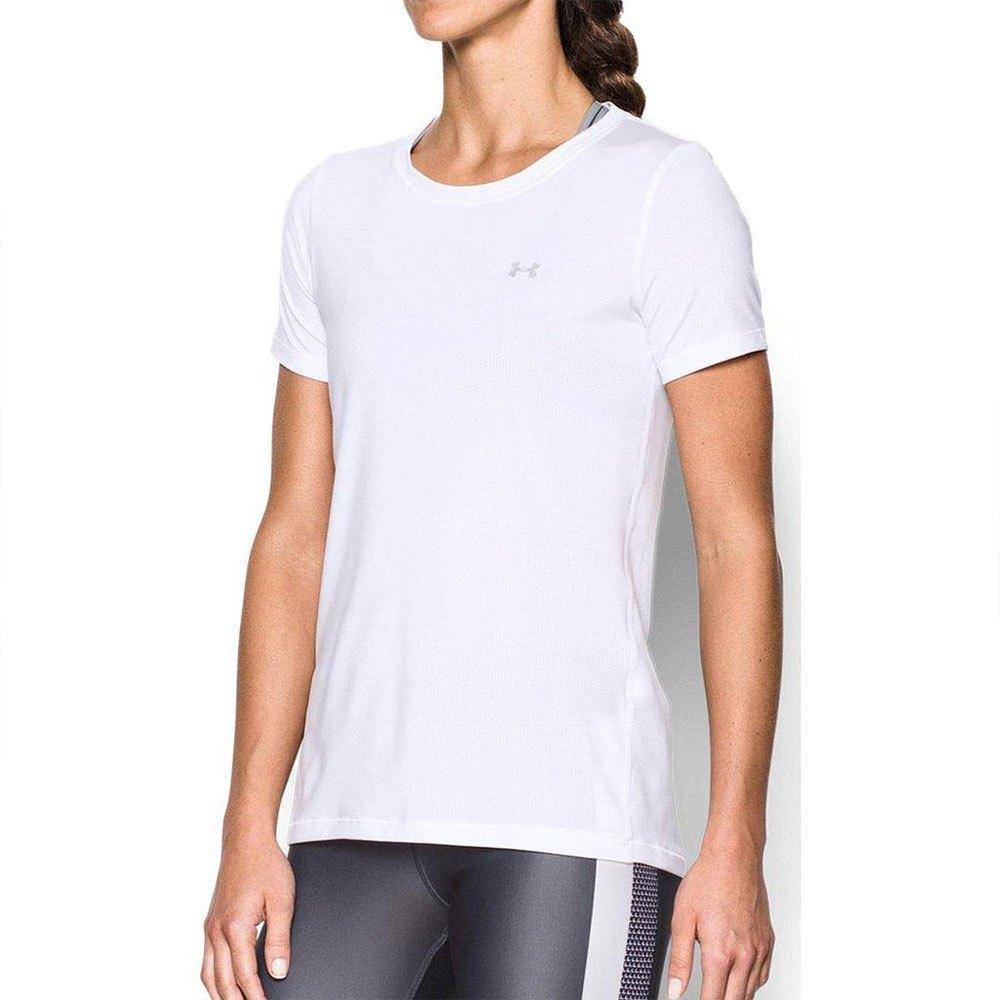 Under Armour T-shirt Manche Courte Heat Gear S White
