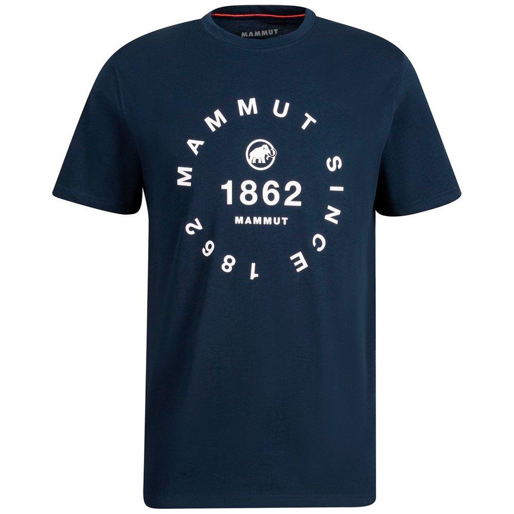 Mammut T-shirt Manche Courte Seile XL Marine Print 2