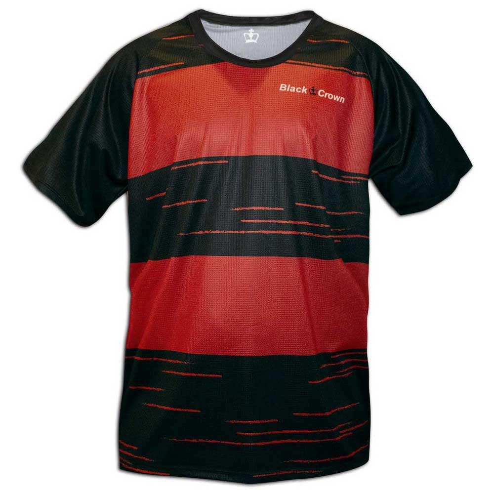Black Crown T-shirt Manche Courte Texas XXS Black / Red