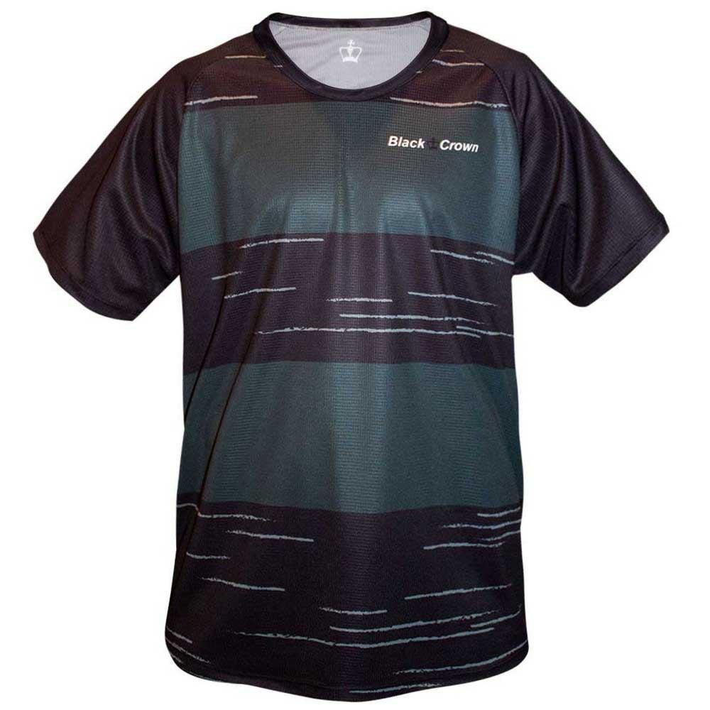Black Crown T-shirt Manche Courte Texas S Black / Grey
