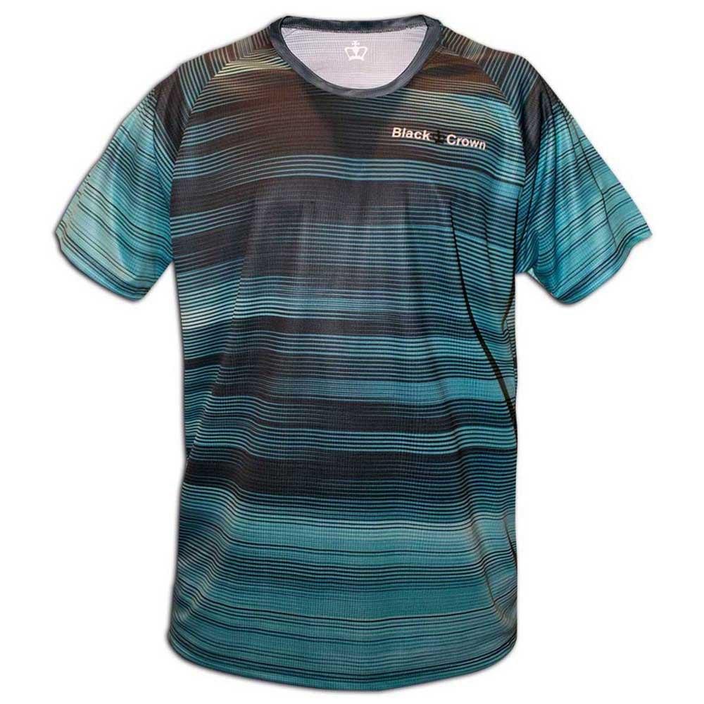 Black Crown T-shirt Manche Courte Kansas XXS Blue