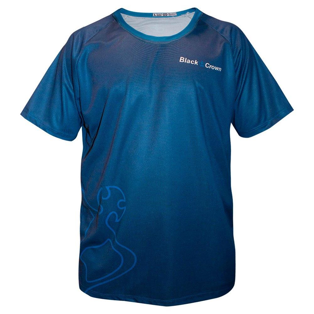 Black Crown T-shirt Manche Courte Indiana XXS Blue