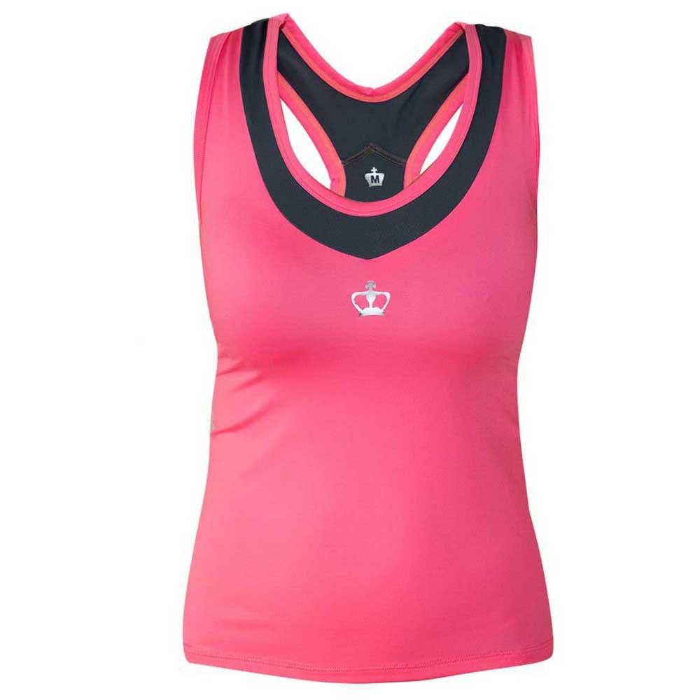Black Crown T-shirt Sans Manches Pals S Pink / Grey