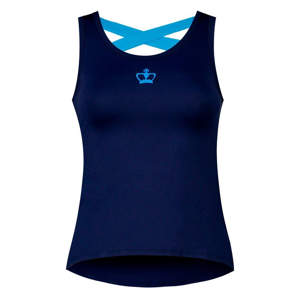 Black Crown T-shirt Sans Manches Rosas S Blue Navy