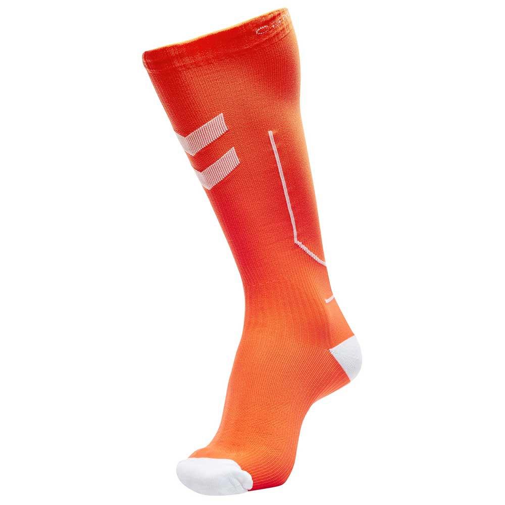 Hummel Compression 25-31 cm Shocking Orange / White