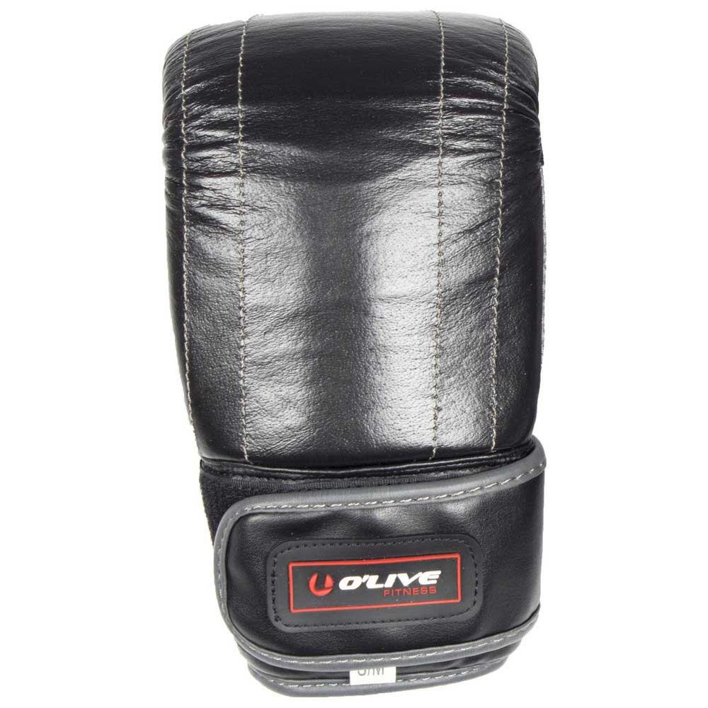 Olive Gants Combat Cuir Synthétique De Haute Qualité L-XL Black