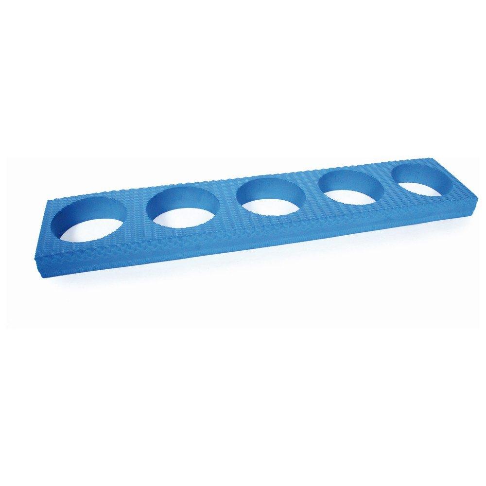 Olive Support Pour Cylindres En Foam 97 x 20 x 8 cm Blue