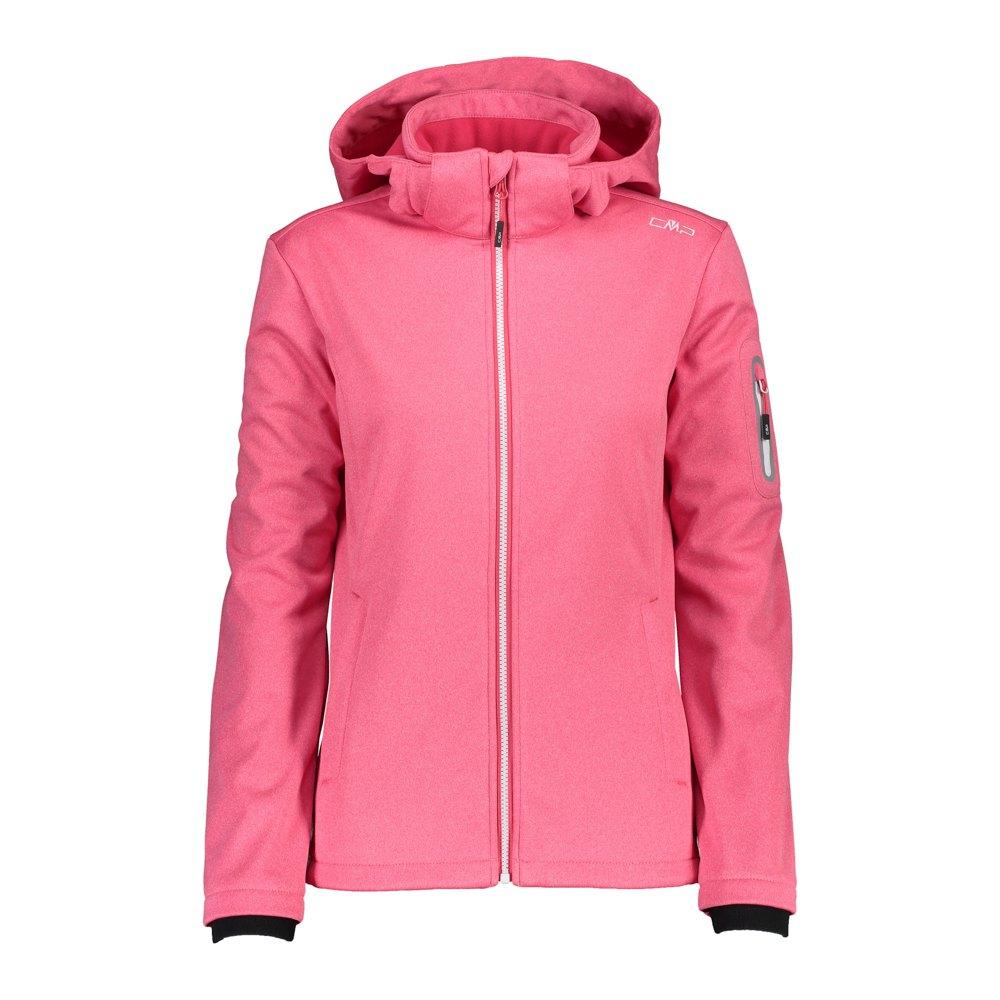 Cmp Zip Hood Jacket XXL Fragola Melange