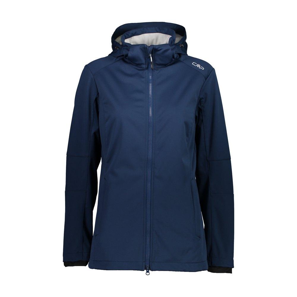Cmp Zip Hood Jacket XXL Blue / Stone