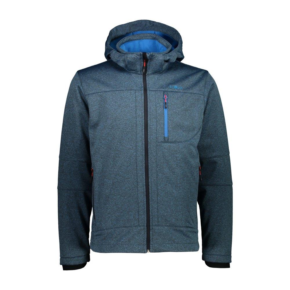 Cmp Zip Hood Jacket XXL Regata Melange