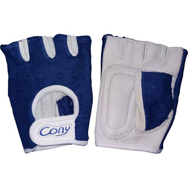 Cony Leather Gloves S Blue