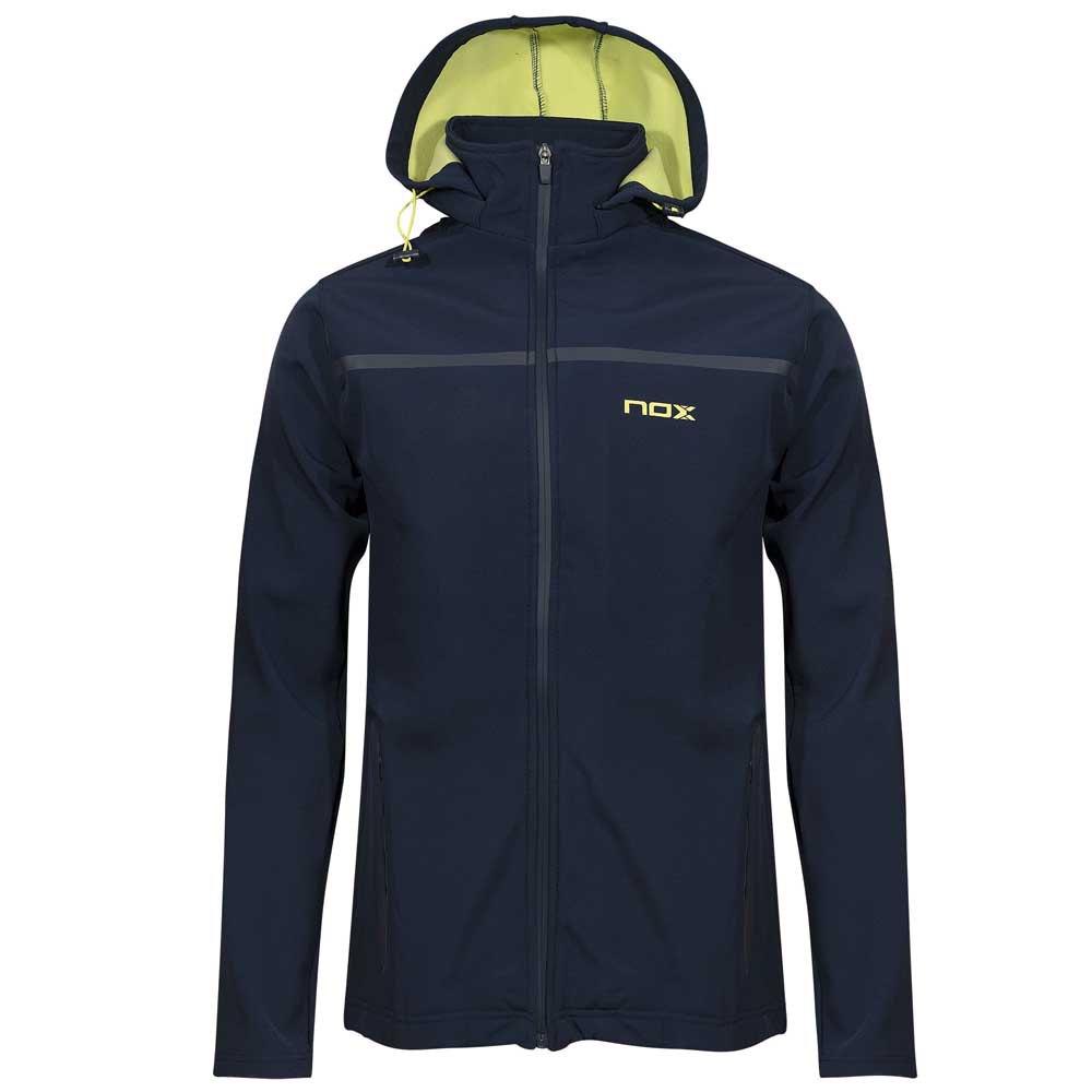 Nox Veste Pro Softshell S Blue / Lime