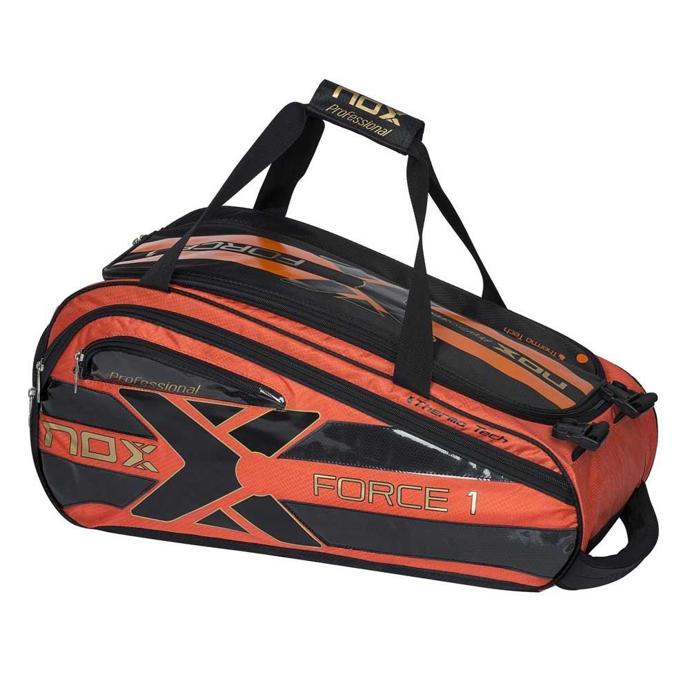 Nox Sac Raquette Padel Force 1 One Size Orange / Black