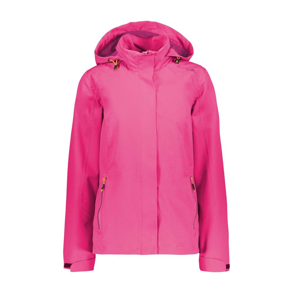 Cmp Zip Hood Jacket XXL Buganvilla