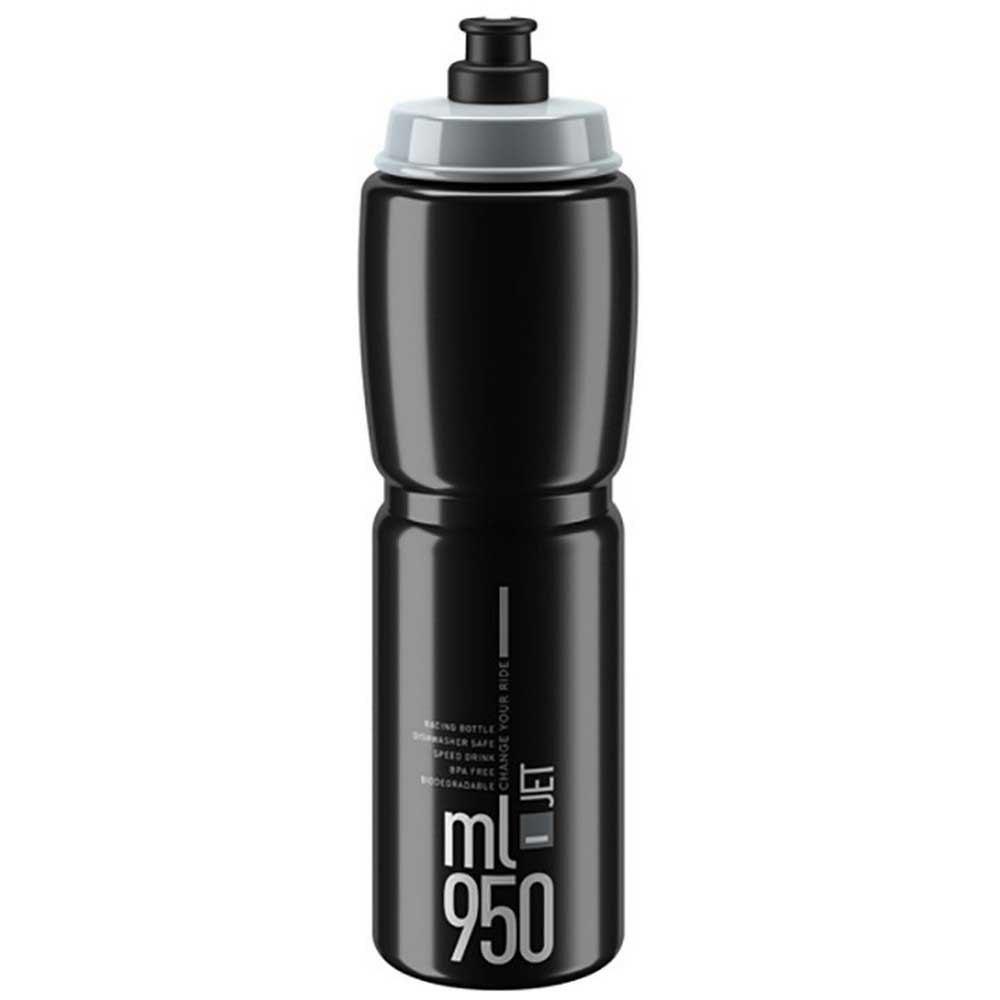 Elite Jet 950ml Water Bottle One Size Black / Grey
