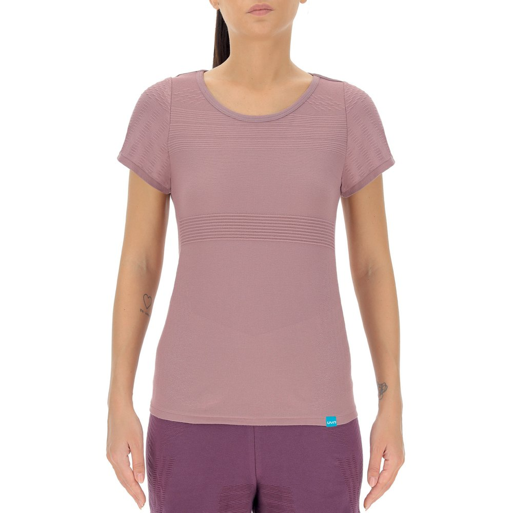 Uyn T-shirt Manche Courte Natural Training Eco Color XS Very Grape