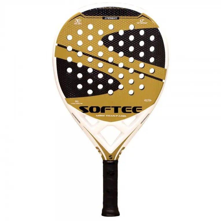 Softee Raquette Padel Freezer One Size White / Gold / Black