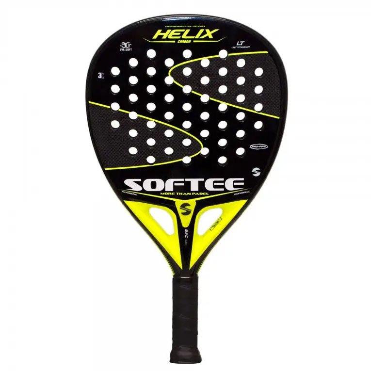 Softee Raquette Padel Helix One Size Black / Yellow