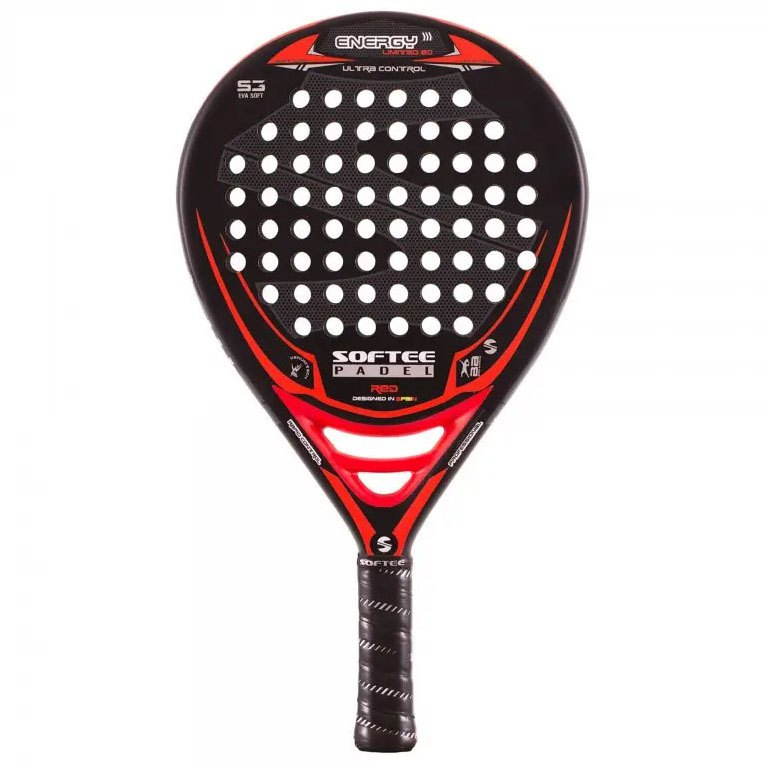 Softee Raquette Padel Energy One Size Black / Red