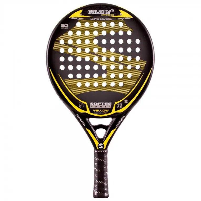 Softee Raquette Padel Galaxy One Size Black / Yellow