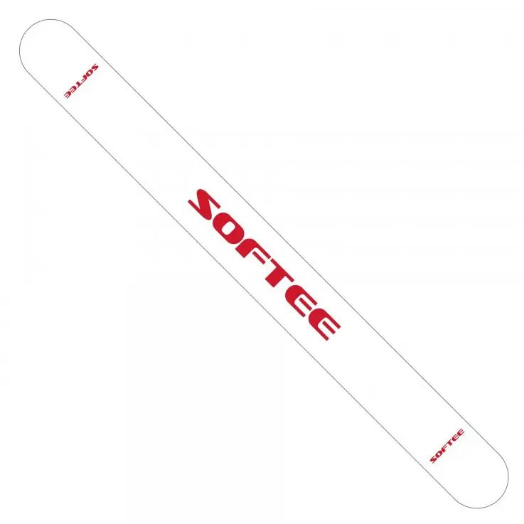 Softee Protecteur Raquette Padel 1t One Size White / Red