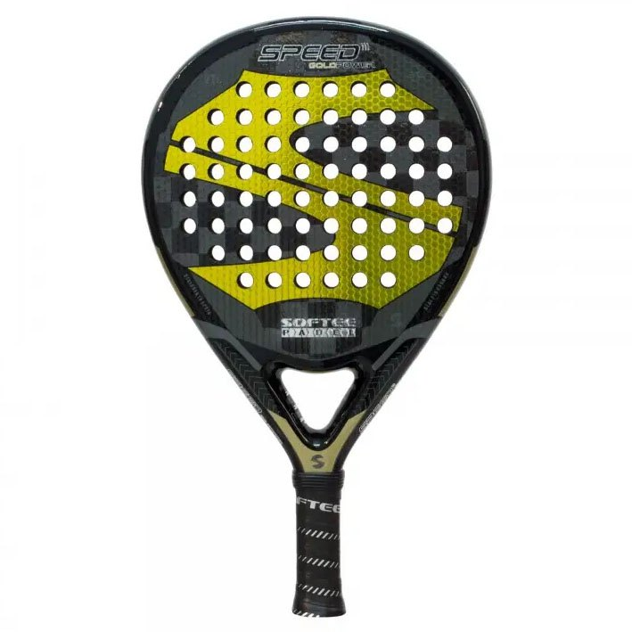Softee Raquette Padel Speed Gold Power One Size Black / Yellow