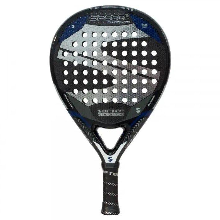 Softee Raquette Padel Speed Blue Power One Size Black / Blue