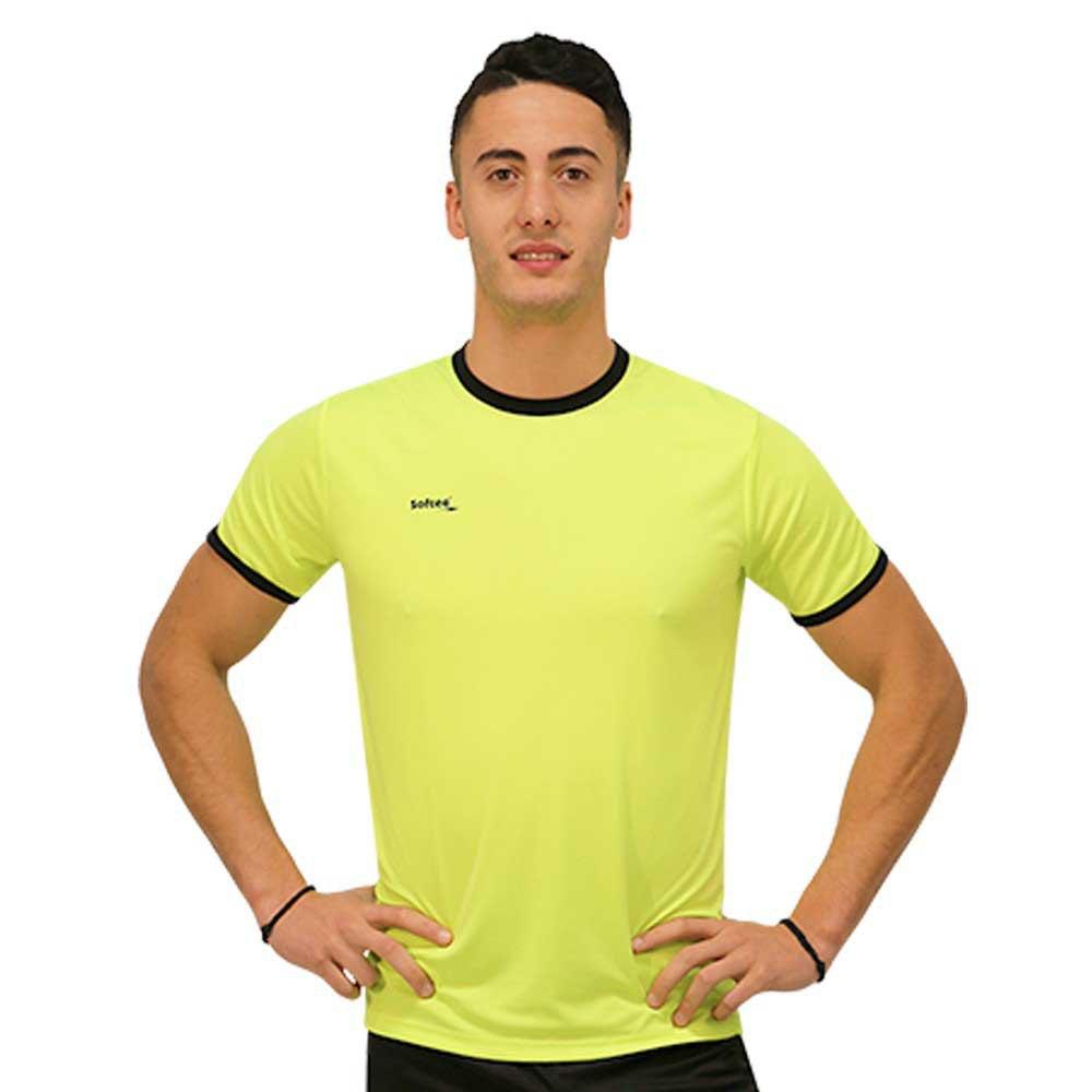 Softee T-shirt Manche Courte Galaxy S Yellow Fluor / Black