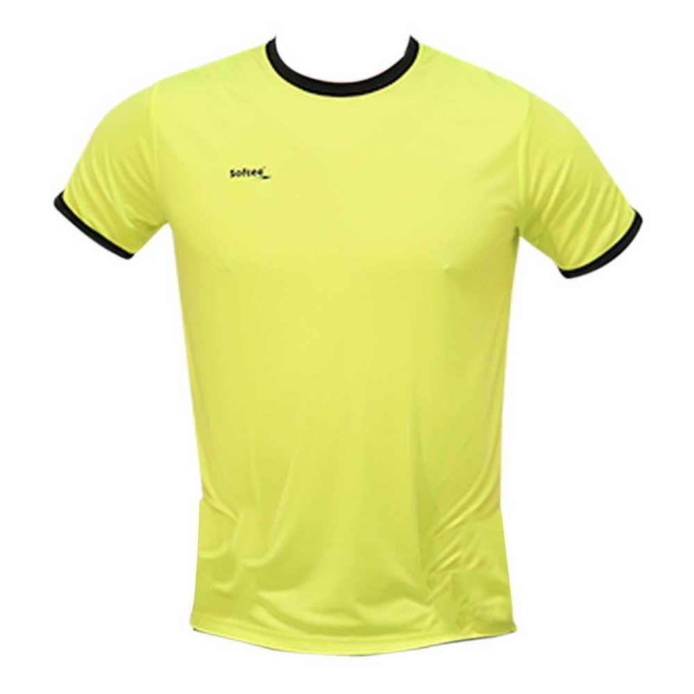 Softee T-shirt Manche Courte Galaxy 12 Years Yellow Fluor / Black