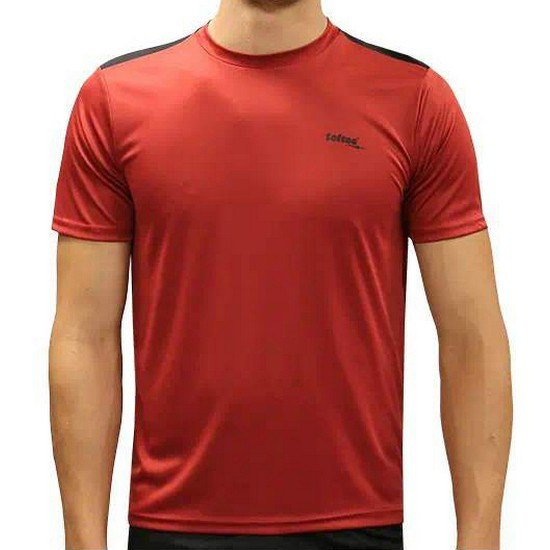 Softee T-shirt Manche Courte Match 12 Years Burgundy / Black