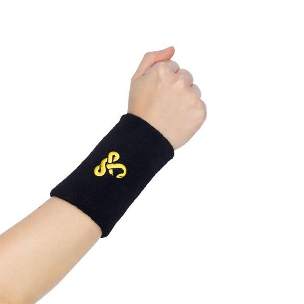 Vibora Wristband 12 Cm 2 Units One Size Black
