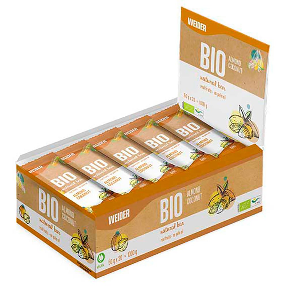 Victory Endurance Bio Natural 50gr 20 Units Almond&coconut One Size