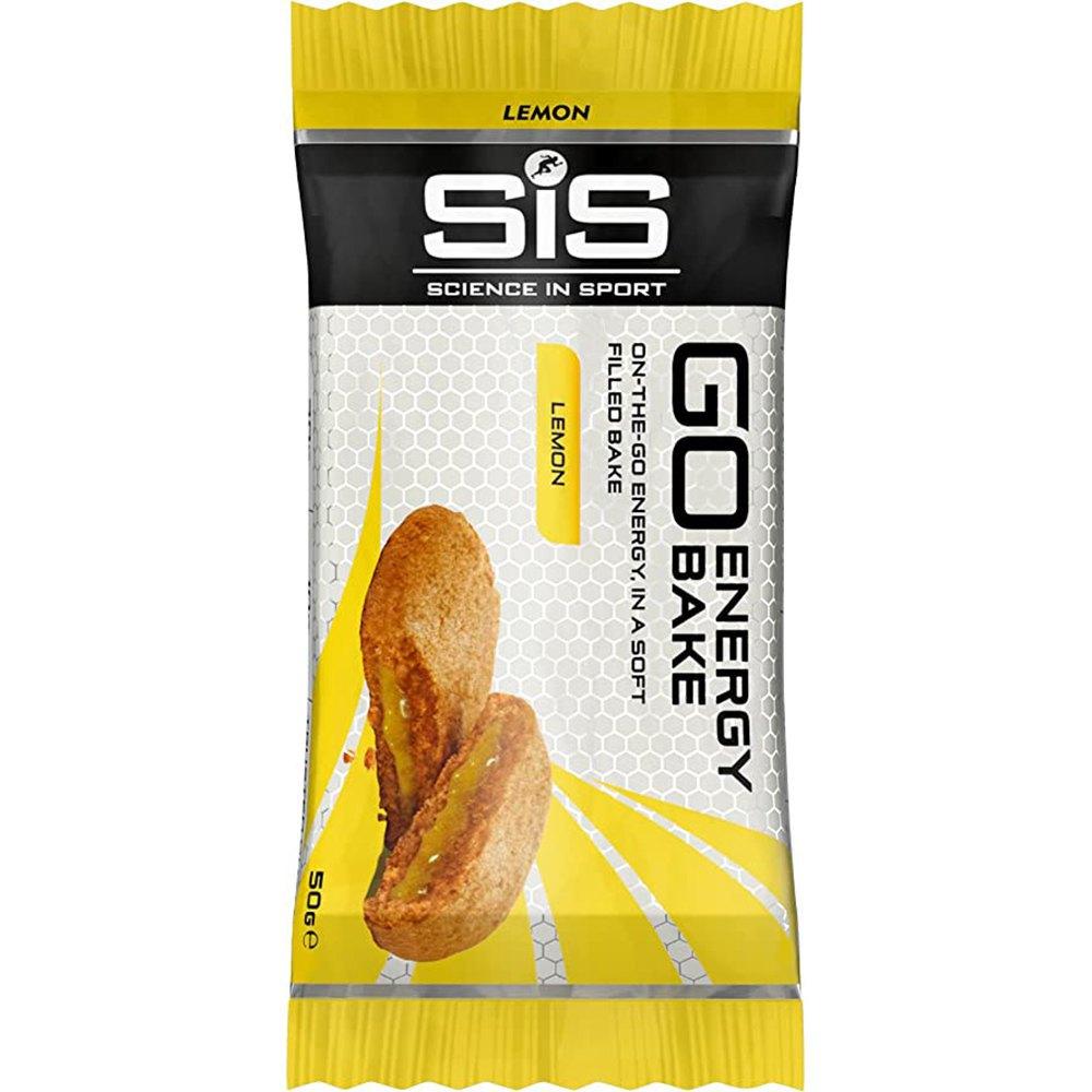 Sis Boîte Barres Énergétiques Go Energy Bake 50g 12 Unités Citron One Size