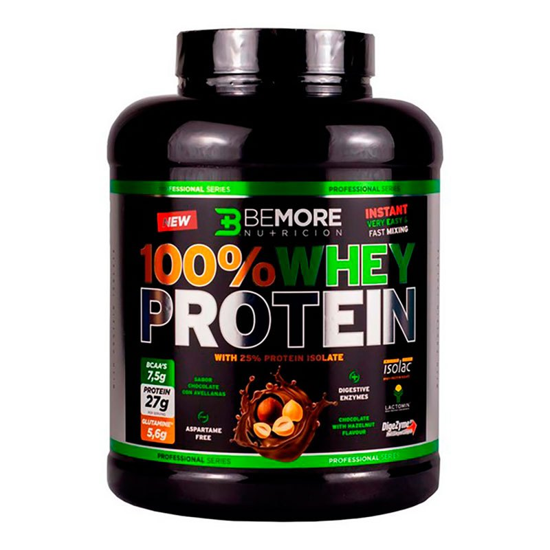 Bemore 100% Isolate Protein 1kg Chocolate One Size