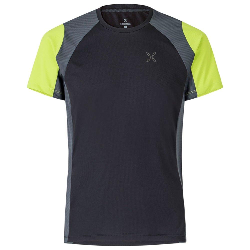 Montura T-shirt Manche Courte Outdoor Choice S Black / Lime Green