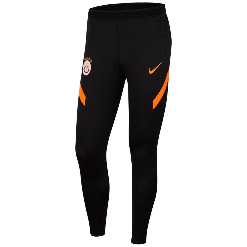 Nike Pantalons Galatasaray Strike Knit 21/22 S Black / Total Orange / Total Orange