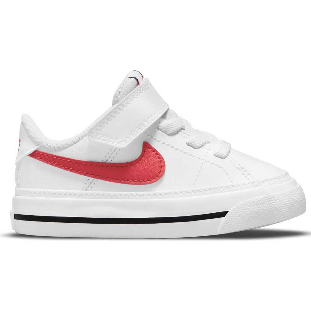 Nike Court Legacy EU 18 1/2 White / University Red / Black