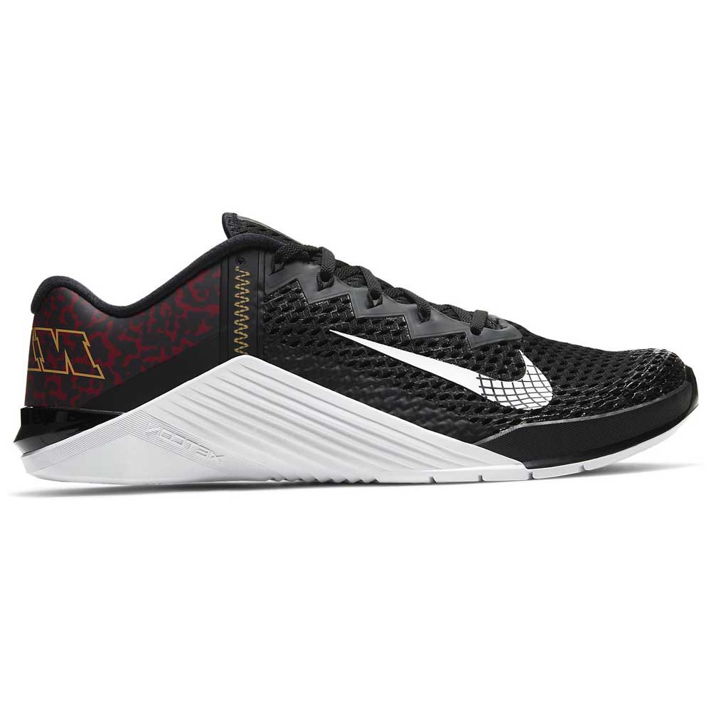 Nike Zapatillas Metcon 6 EU 45 Black / White / Dark Cayenne / Solar Flare
