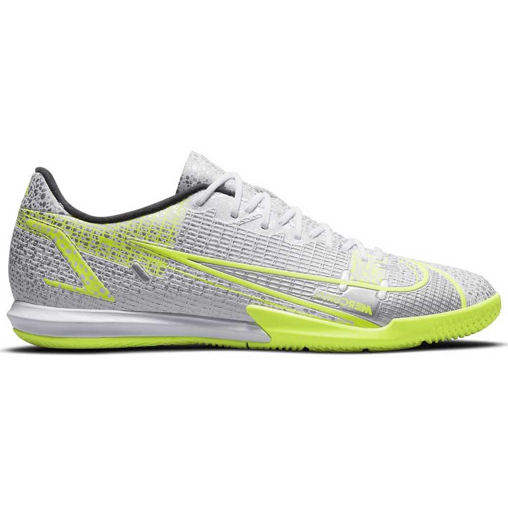 Nike Chaussures Football Salle Mercurial Vapor Xiv Academy Ic EU 45 White / Black / Metallic Silver / Volt