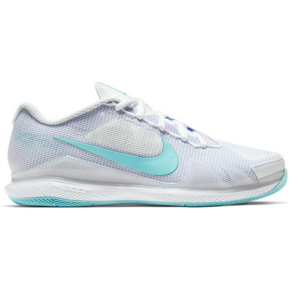 Nike Chaussures Court Air Zoom Vapor Pro EU 41 White / Copa / Purple Pulse
