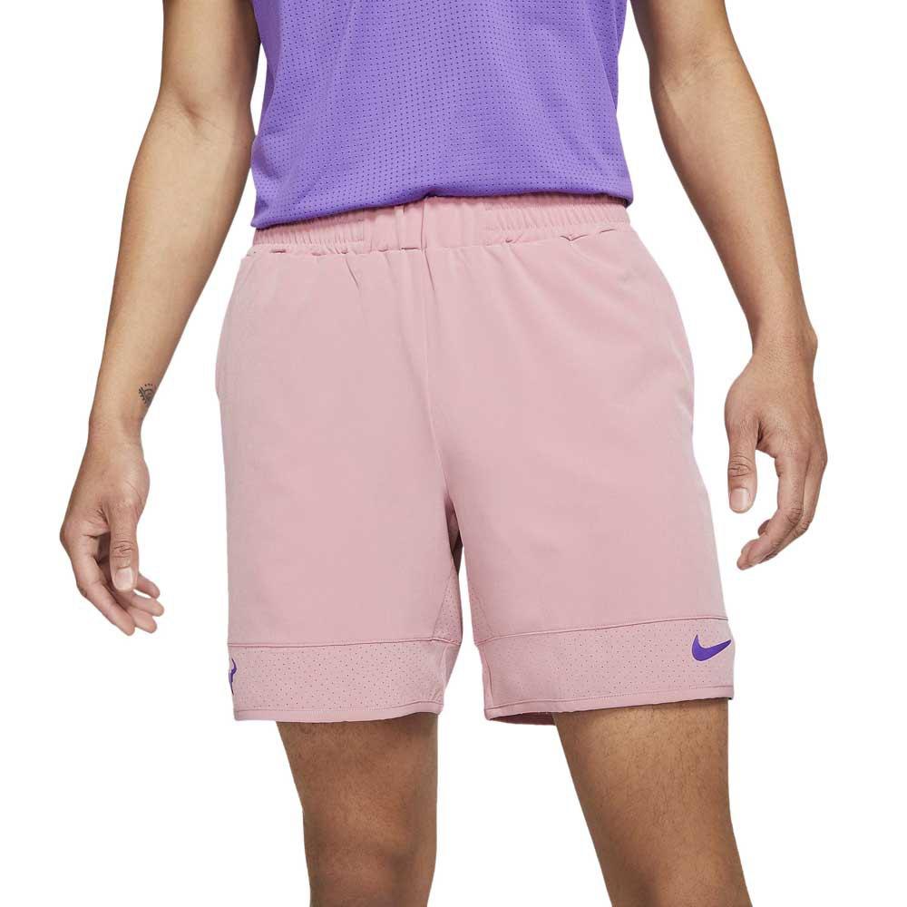 Nike Court Dri Fit Advantage Rafa 7´´ S Elemental Pink / Wild Berry