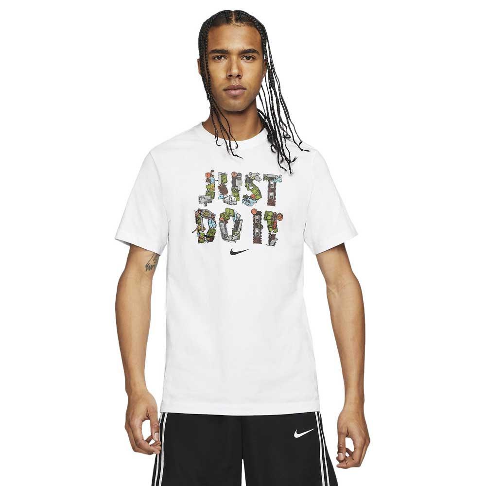 Nike T-shirt Manche Courte Just Do It XL White