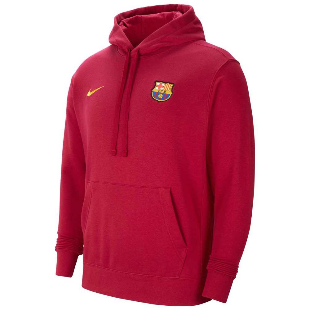 Nike Fc Barcelona Club 21/22 S Noble Red / Varsity Maize